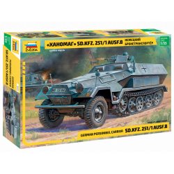 GERMAN HANOMAG SD.KFZ.251/1...