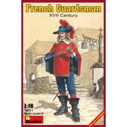 FRENCH GUARDSMAN XVII CENTURY
